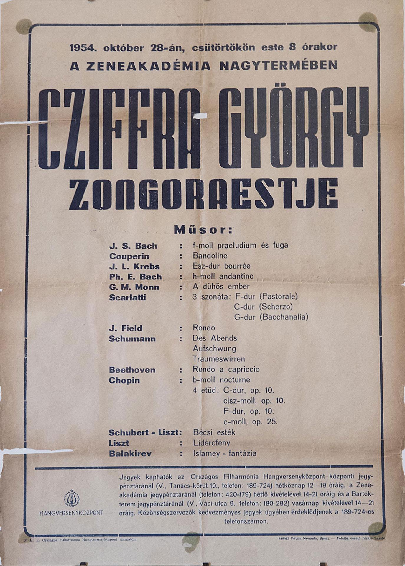 Cziffra György Kiállítás Mcp Galéria